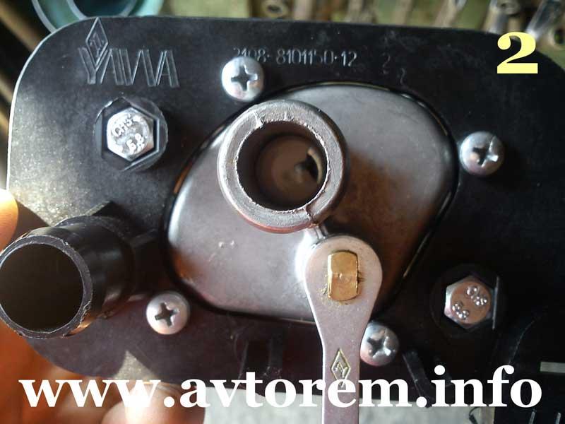 Керамический кран отопителя Ваз-2115