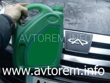 Как самостоятельно заменить масло в двигателе автомобиля Chery Elara, Chery Fora, Vortex Estina