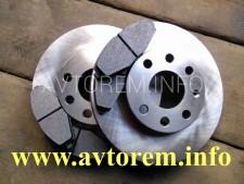 диск передний тормозной ланос