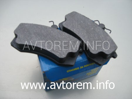 Передние тормозные колодки ВАЗ  ВАЗ 2109 замена