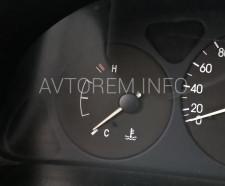 замена датчика температуры охлаждающей жидкости ланос
