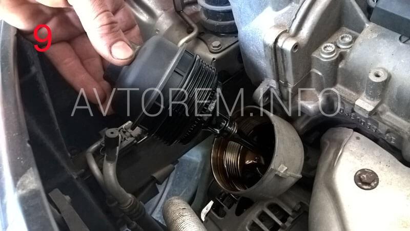 замена масла в двигателе фабия своими руками