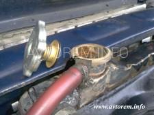 Как заменить антифриз ( тосол ) своими руками в автомобиле ВАЗ-2106