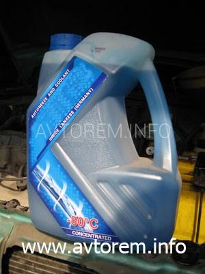 Замена охлаждающей жидкости (антифриза) в автомобиле Daewoo Lanos (Дэу Ланос)