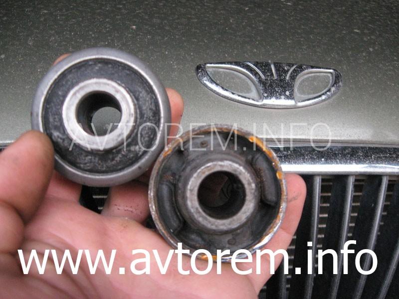 сайлентблоки нижних рычагов автомобиля Daewoo Nubira