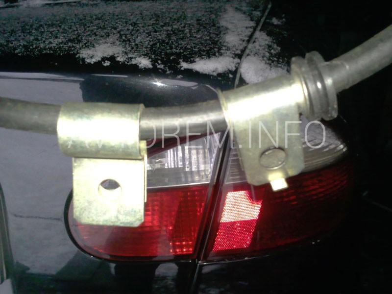 Проводим замену троса ручника на автомобилях Daewoo Lanos