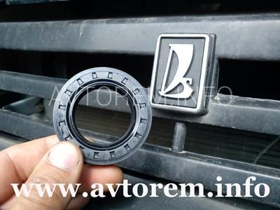 Самостоятельная замена сальника переднего привода на автомобилях ваз